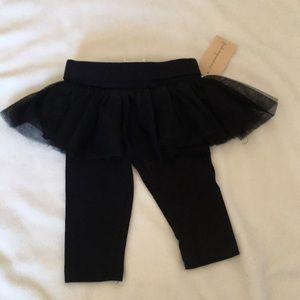 Black Tutu leggings